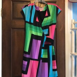 Phoebe Couture wrap dress